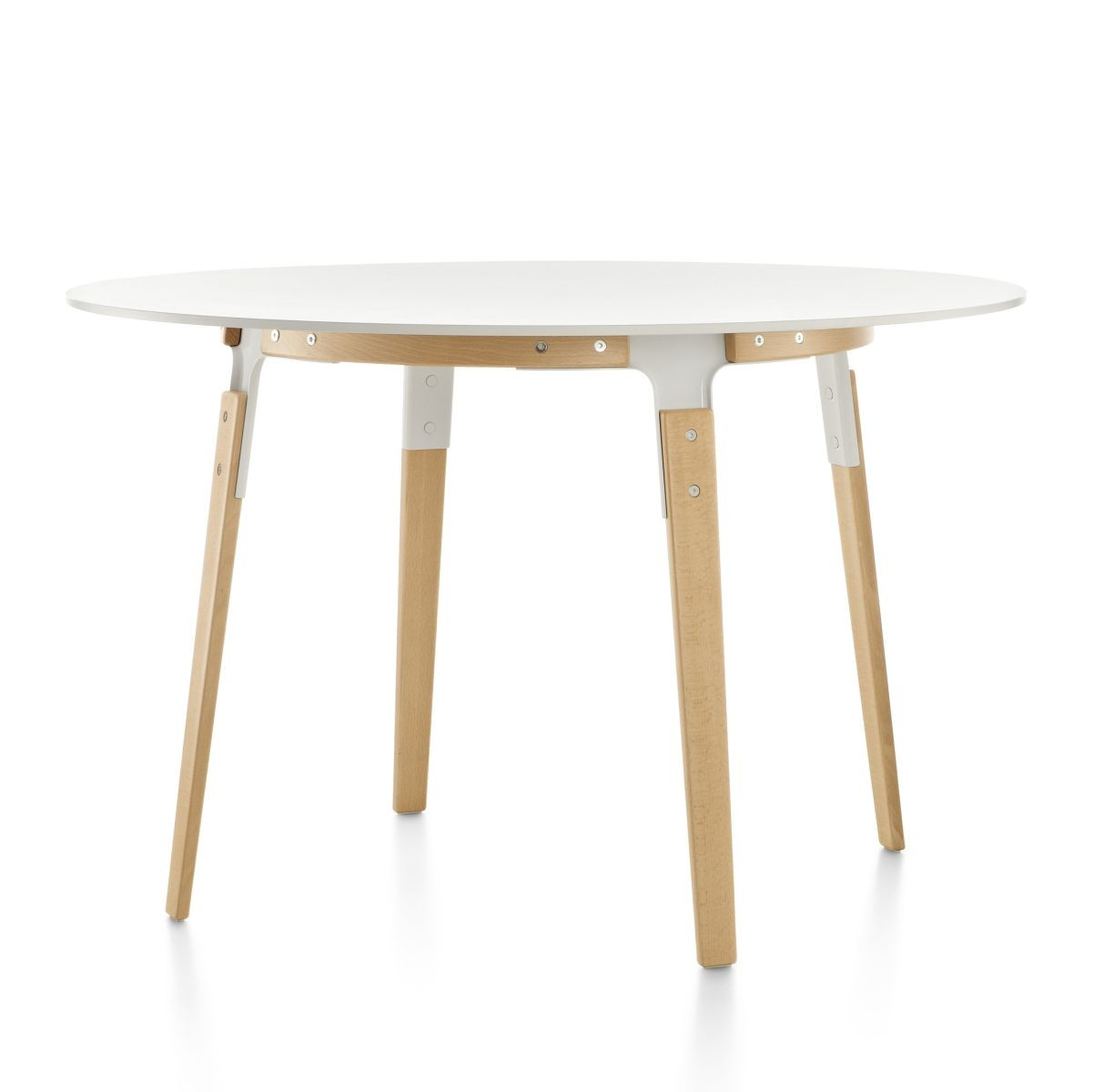 Magis Steelwood Table, Round