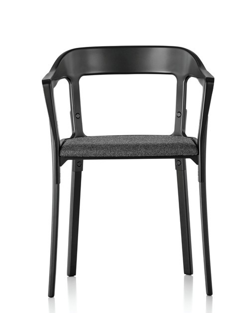 Magis Steelwood Upholstered Chair