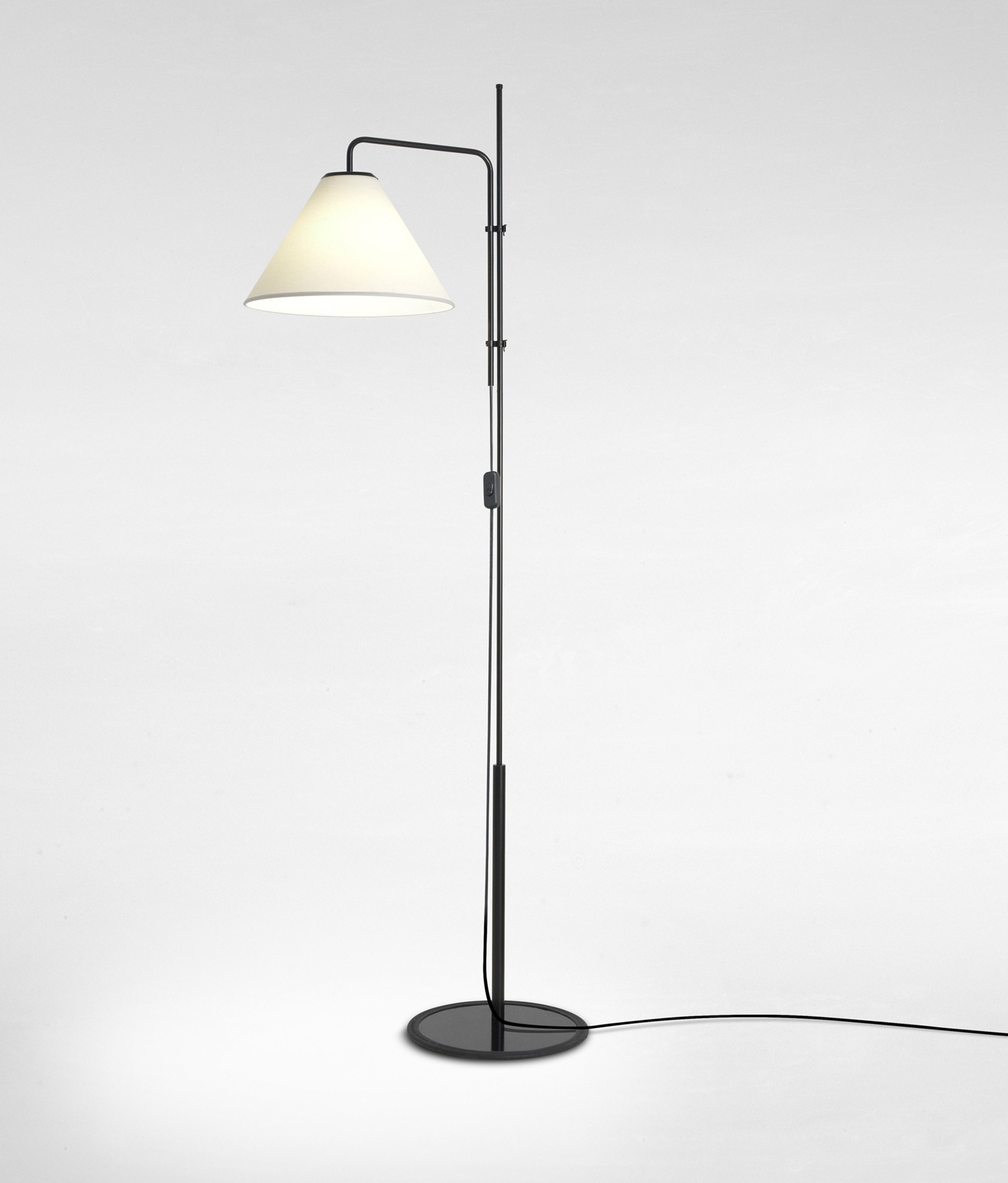 Mt Funiculi Fabric Floor Lamp