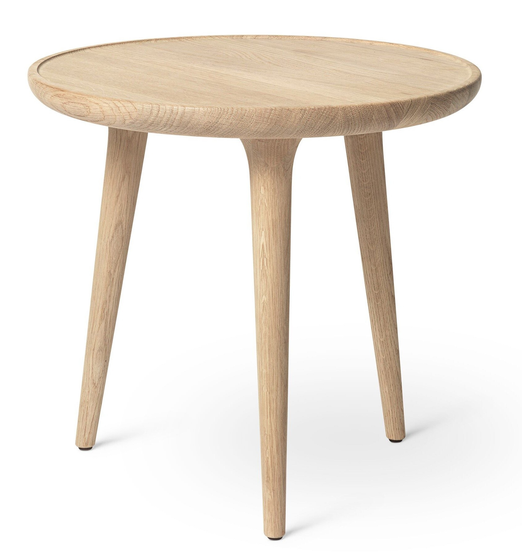 Mater Accent Side Table - Mat Lacqured Oak