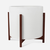 Modernica Case Study® Ceramics XXL Cylinder With Stand (Planter)