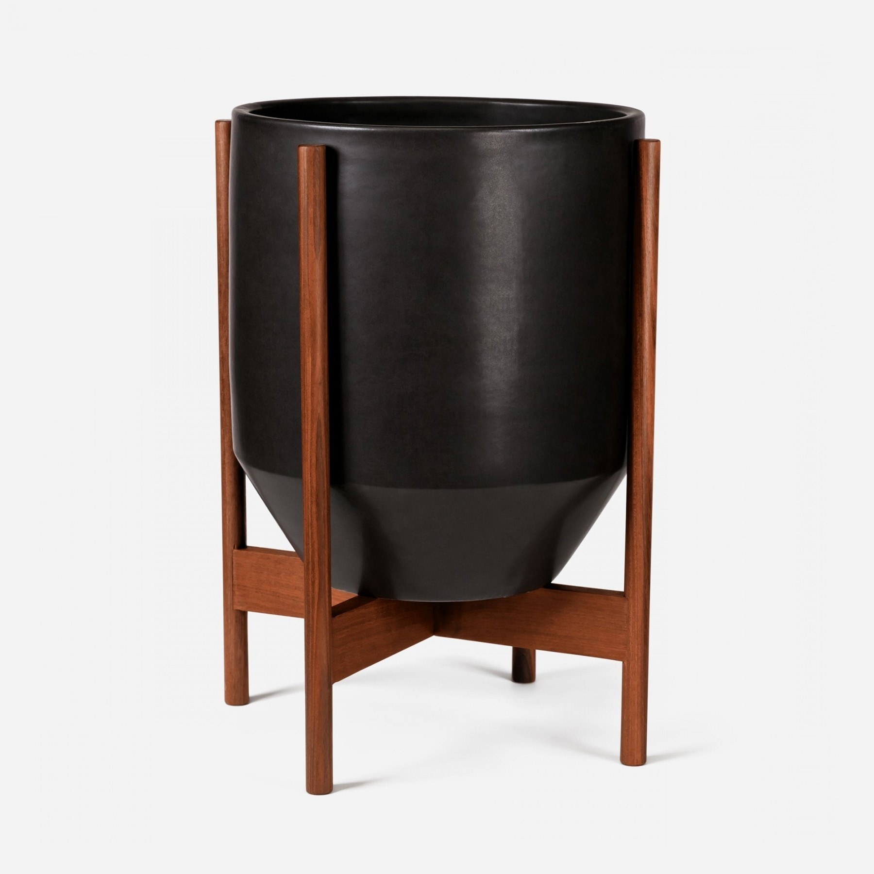 Modernica Case Study® Ceramics Large Hex With Stand (Planter)