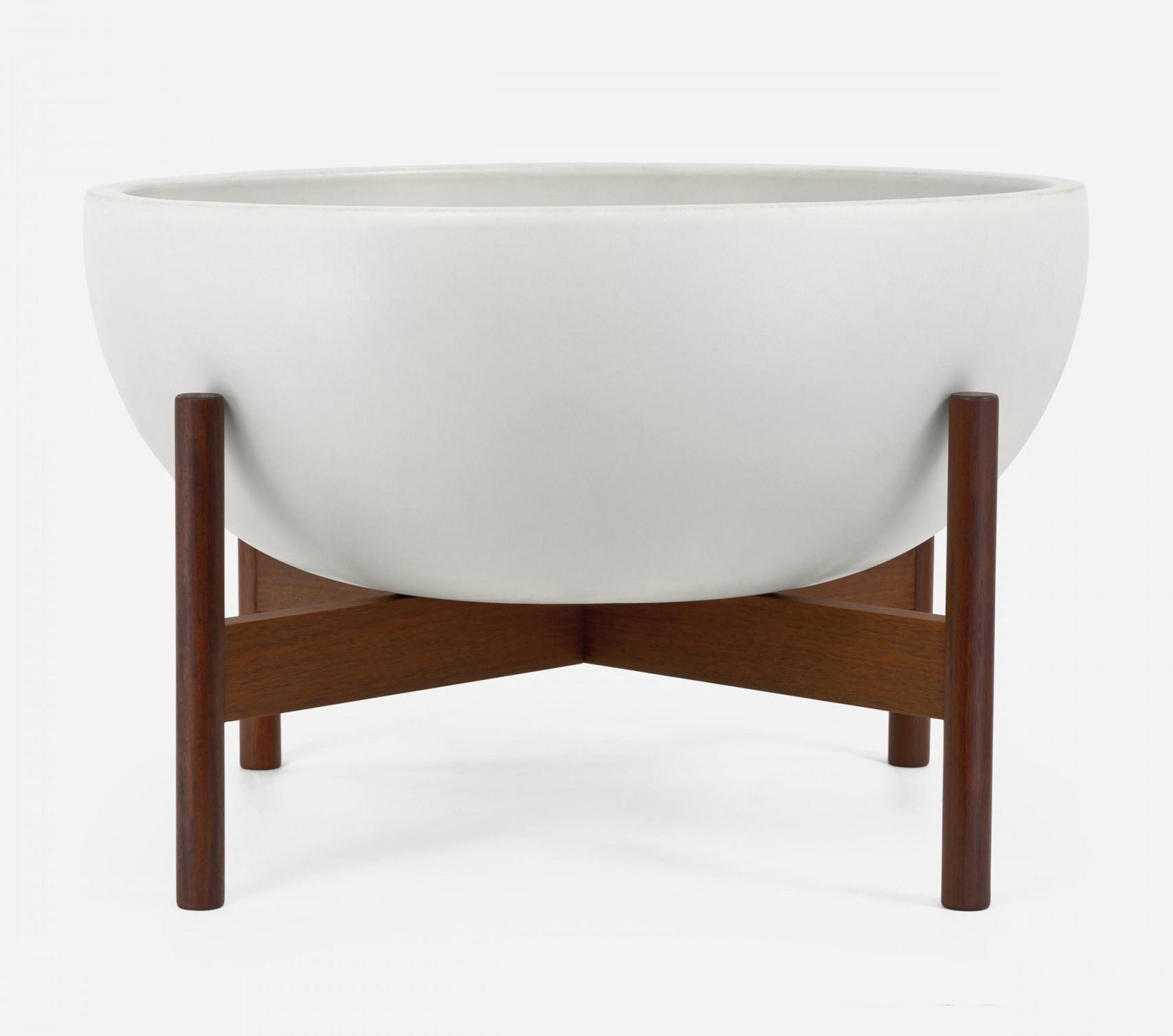 Modernica Case Study® Ceramics Large Bowl With Stand (Planter)