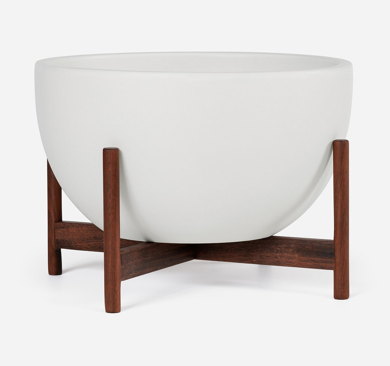 Modernica Case Study® Ceramics Small Bowl With Stand (Planter)