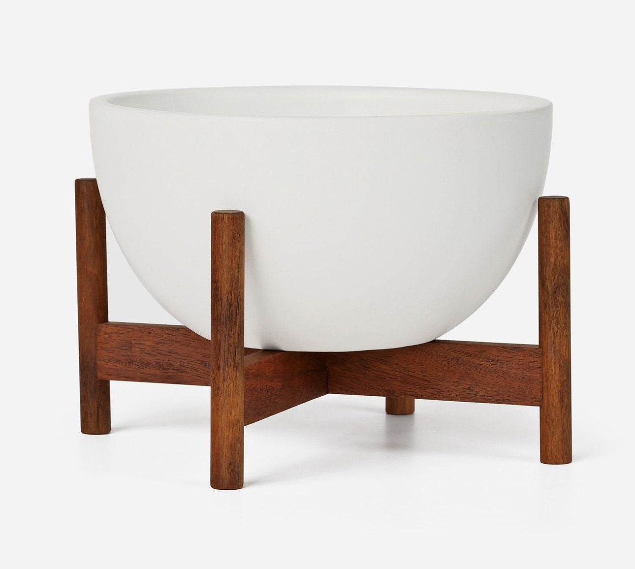 Modernica Case Study® Ceramics Table Top Bowl With Stand (Planter)
