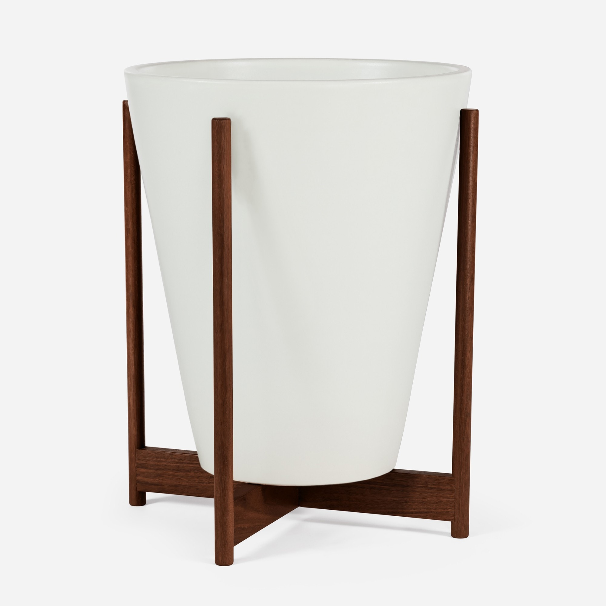 Modernica Case Study® Ceramics Large Funnel with Stand (Planter)