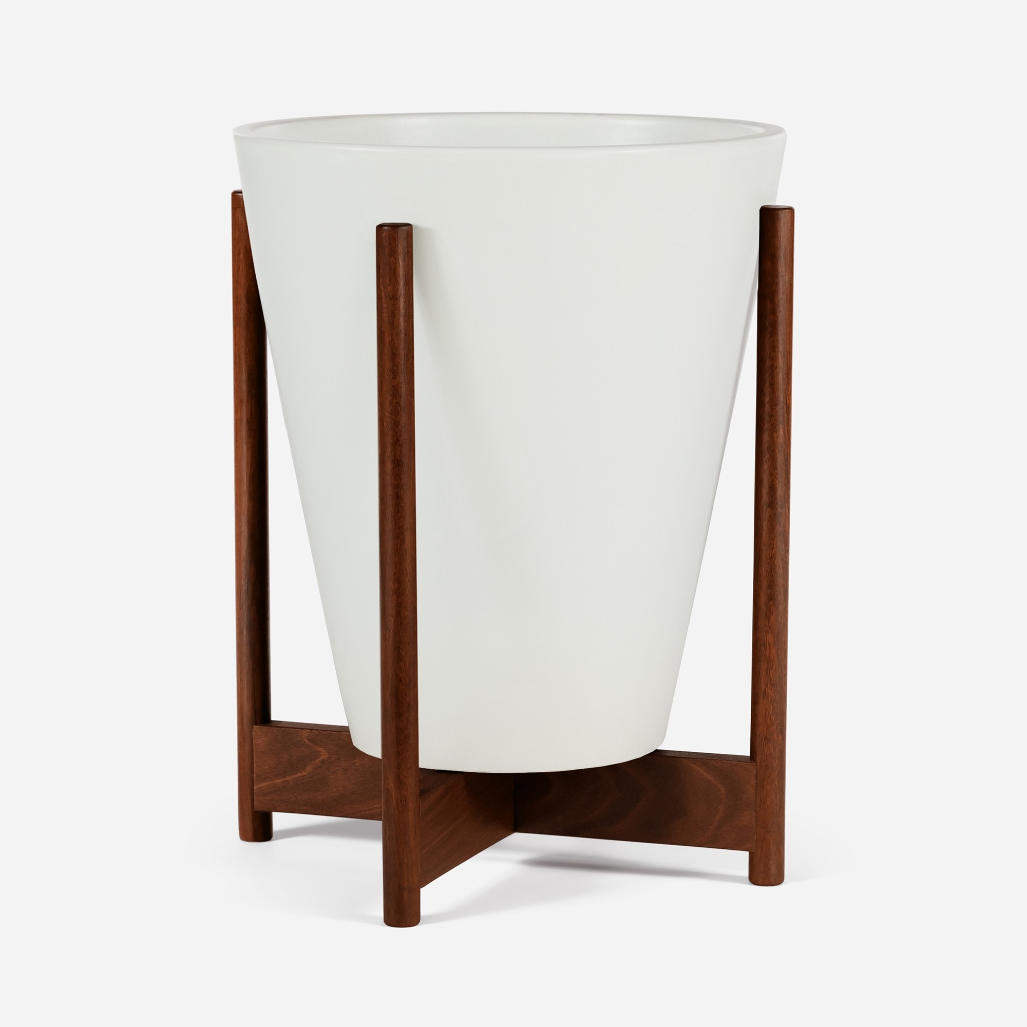 Modernica Case Study® Ceramics Small Funnel with Stand (Planter)