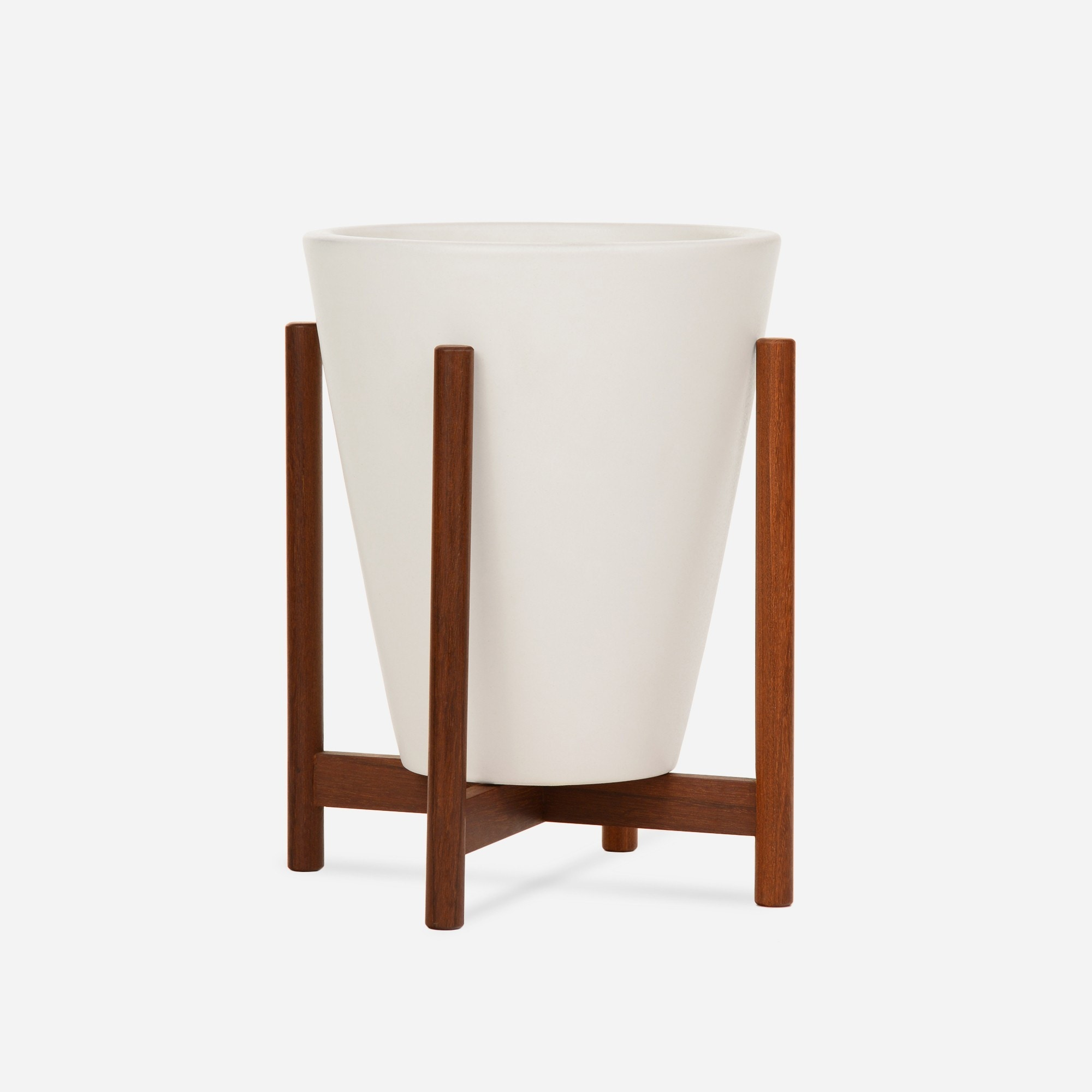 Modernica Case Study® Ceramics Table Top Funnel with Stand (Planter)