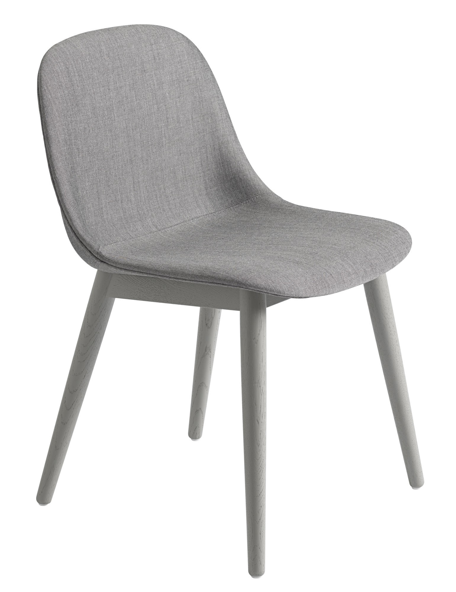 Muuto Wood Base Upholstered Fiber Side Chair GR Shop Canada