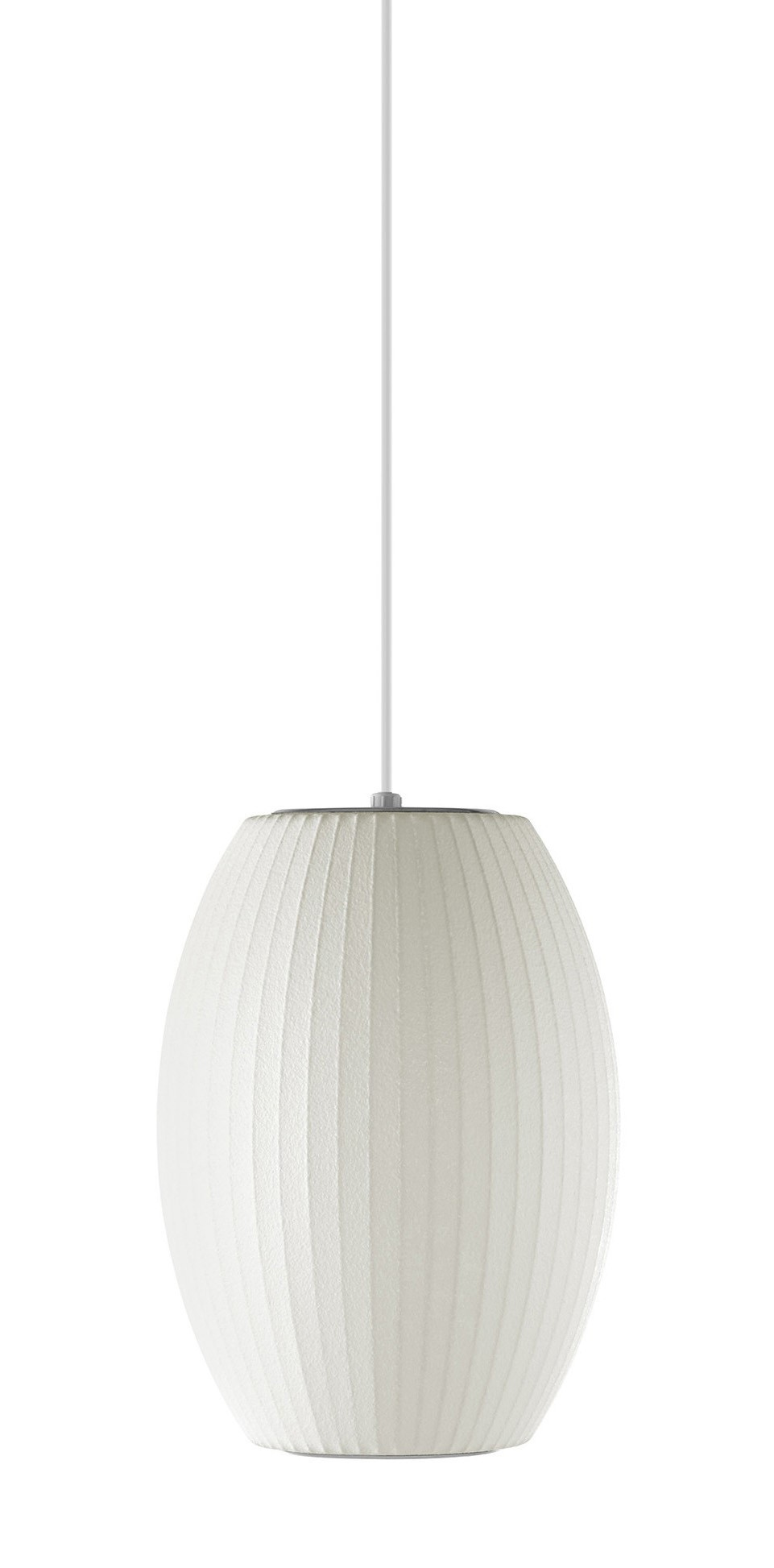 Herman Miller Nelson® Cigar® Bubble Lamp Pendant - Small (STK)