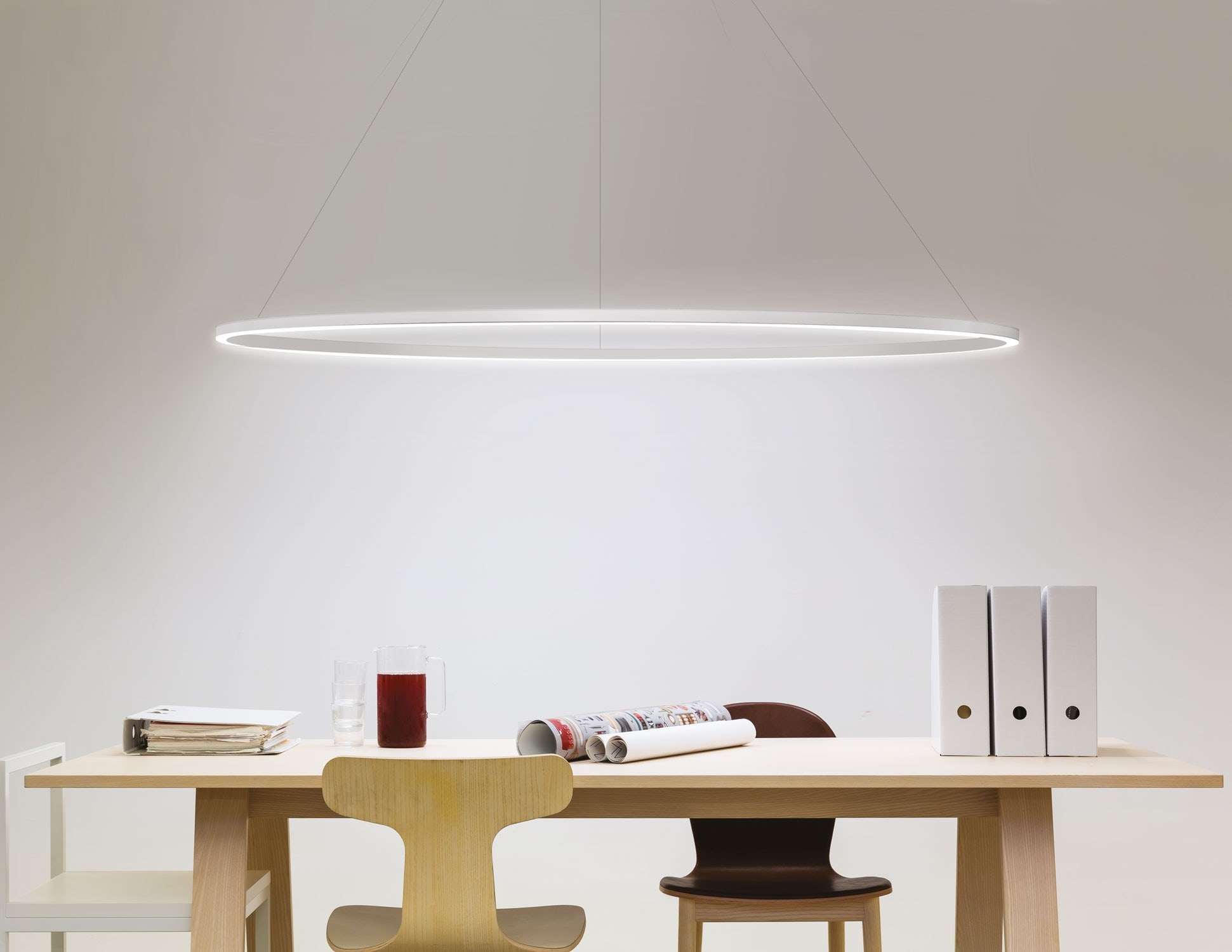 lamp p led modern contemporary marchetti pura and cache en pendant