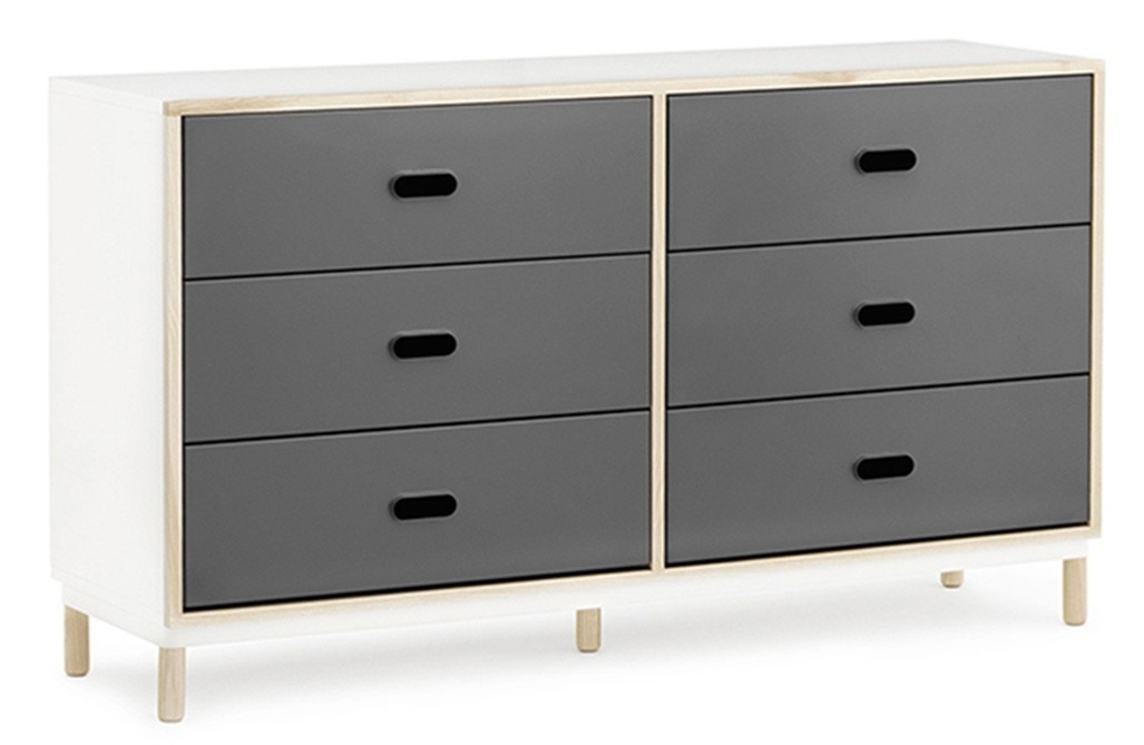 Normann Copenhagen Kabino Dresser with 6 Drawers