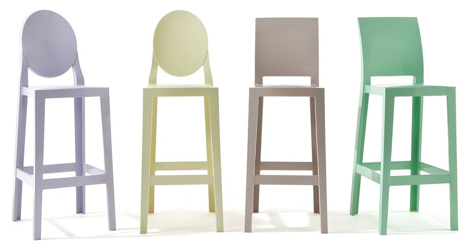 Kartell One More, One More Please Stool (Priced Each, Sold in Sets of 2)