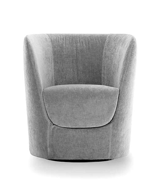 Pianca Oplà Armchair With Swiveling Base