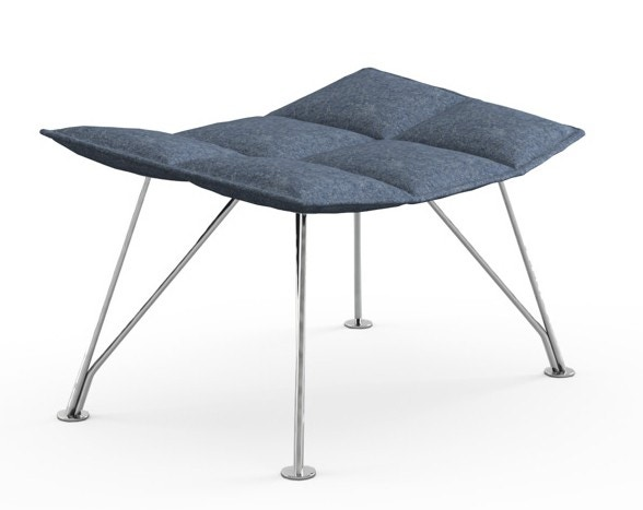Knoll Markus Jehs and Jurgen Laub - Ottoman (Wire Base)