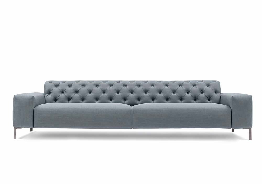 Pianca Boston Sofa With Tufted Back