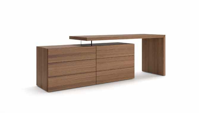 Pianca Domino Vanity/Desk And People Dresser