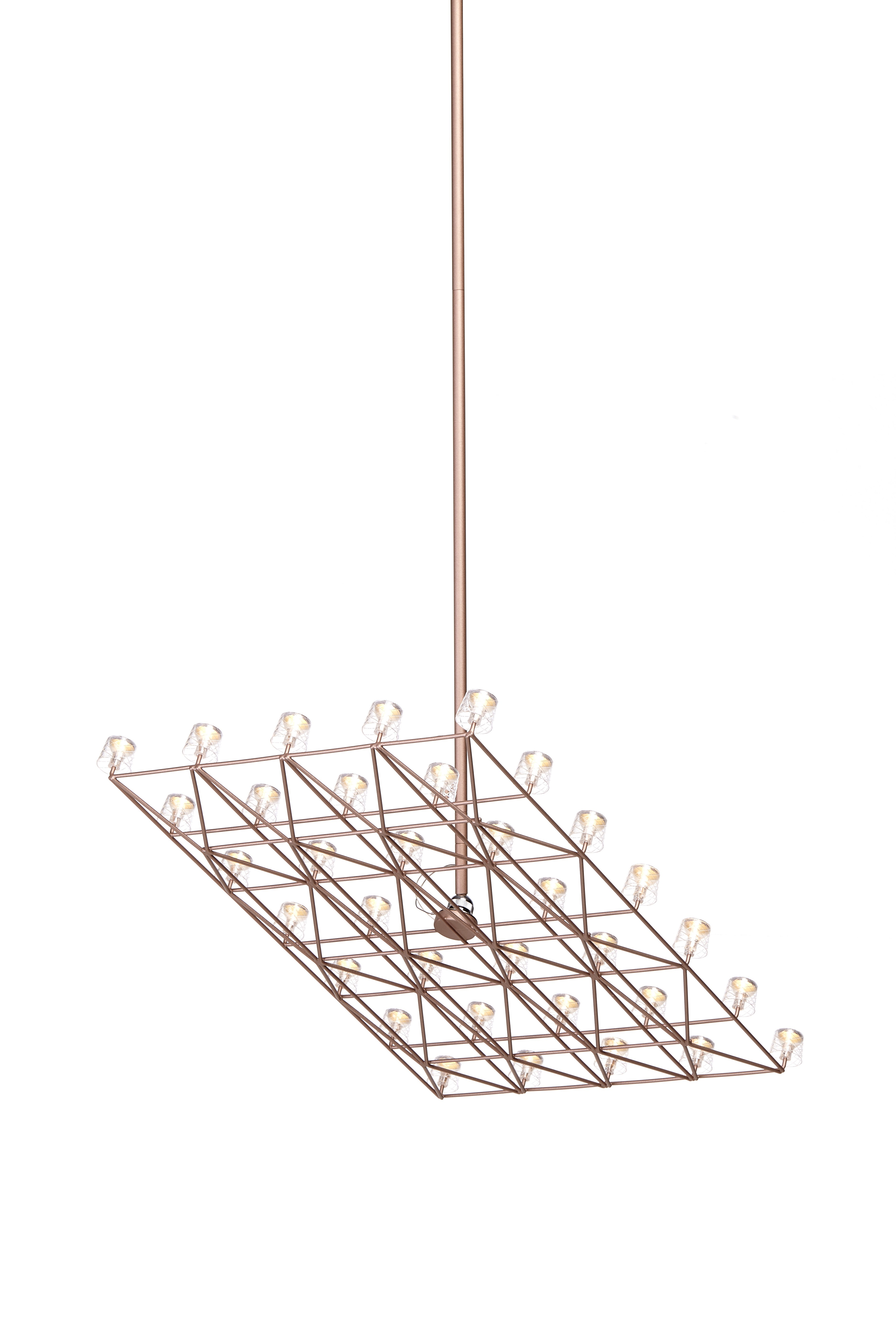 Moooi Space-Frame Suspension Lamp - GR Shop Canada