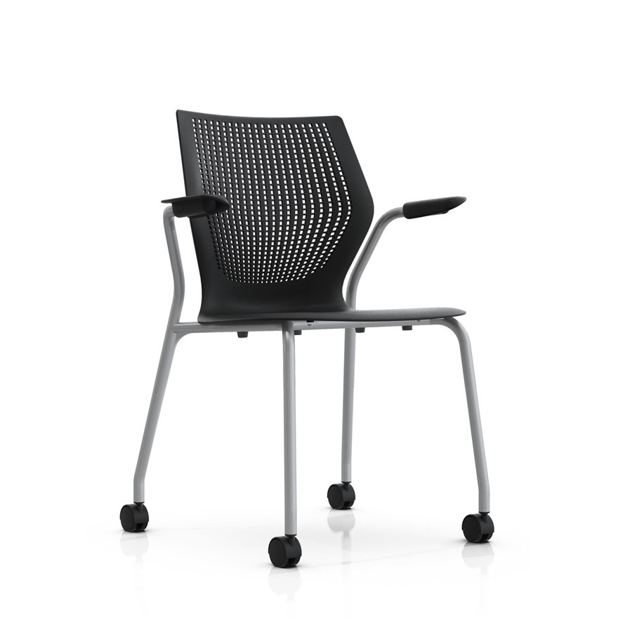 Stackable Chairs With Arms ~ Knoll multigeneration stacking base chair gr shop canada
