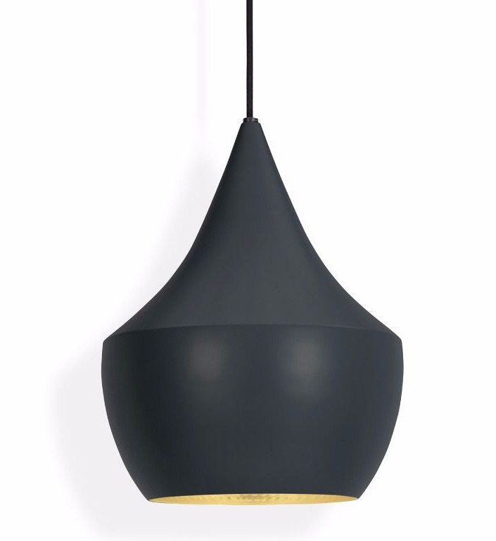 tom dixon beat fat pendant lamp black. Black Bedroom Furniture Sets. Home Design Ideas