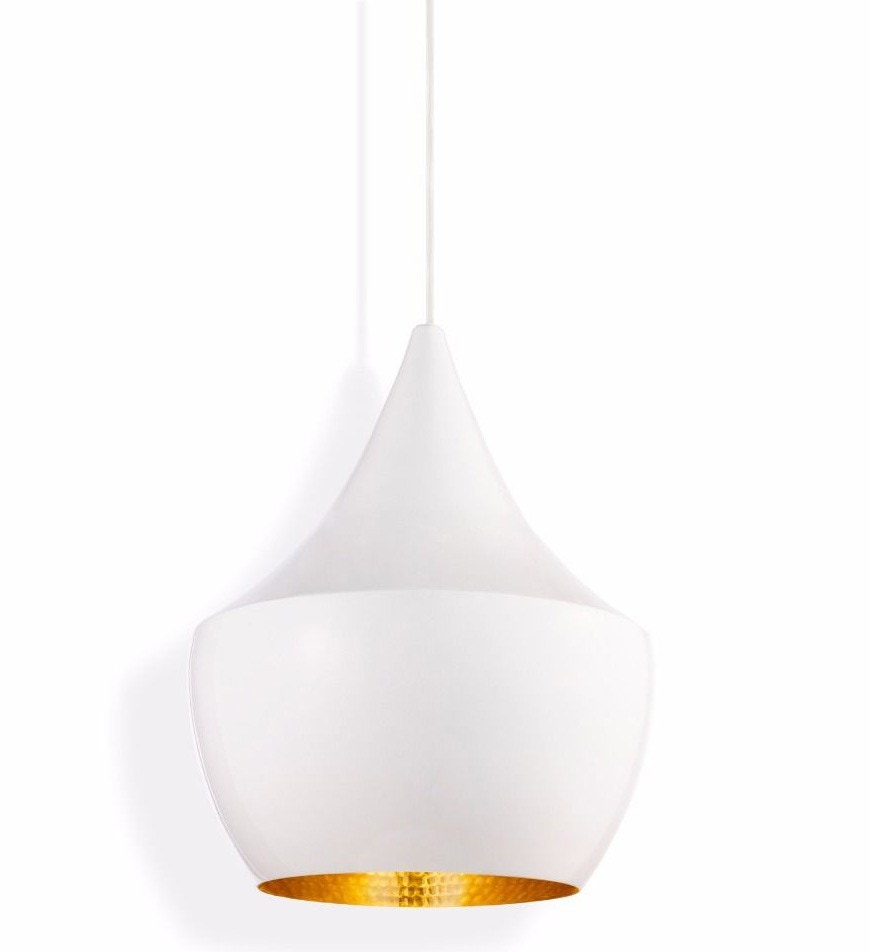 Tom Dixon Beat Fat Pendant Lamp, White