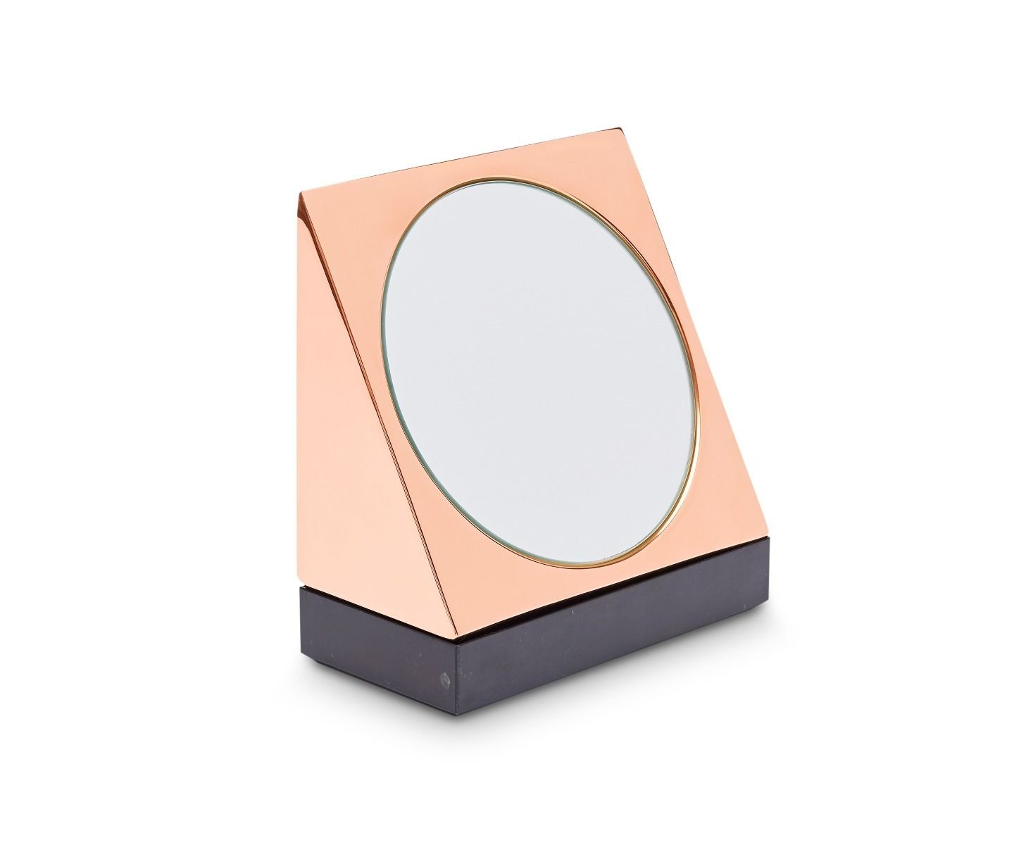Tom Dixon Lid Wedge Mirror with Base