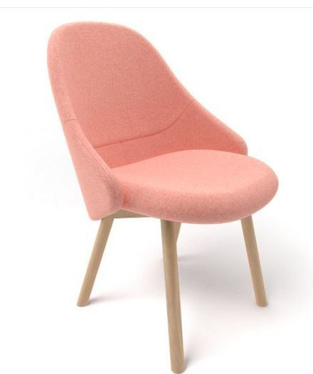 Ton Alba Chair 414 (Priced Each, Min 4 Pieces)