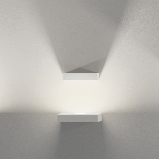 Vibia Set LED One Reflector Block Wall Sconce Lamp