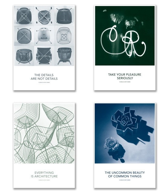 Vitra Eames Quotes Posters