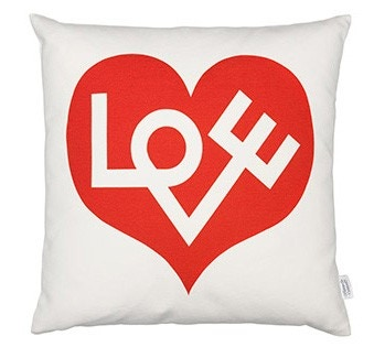 Vitra Graphic Print Pillow Love