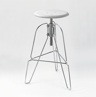 Jeff Covey Model 6 Stool White Seat