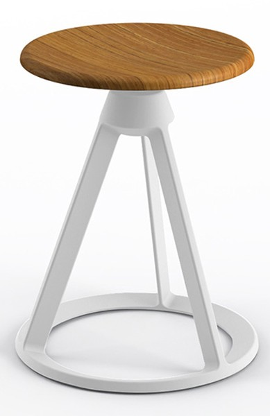 Knoll Barber Osgerby Piton™ Fixed Height Stool, Outdoor