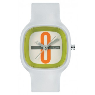 Alessi Kaj Wrist Watch White/Green