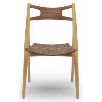 Carl Hansen & Son CH29T Sawbuck Chair, New Mix Wood Combination