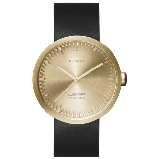 Leff Amsterdam Tube D42 Brass Watch