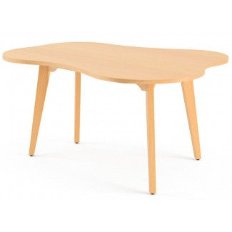 Knoll Jens Risom - Childs Amoeba Shaped Coffee Table