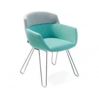 Artifort Mood Relax Wire Frame Chair