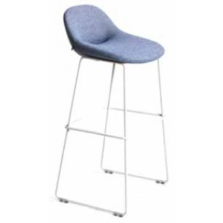 Artifort Beso Steel Legged Bar Stool