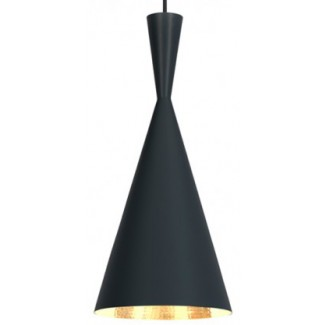 Tom Dixon Beat Pendant Light Tall, Black