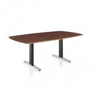Herman Miller Renew Sit-to-Stand Table Oval T-Foot