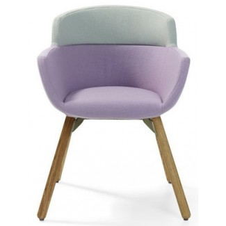 Artifort Mood Active Wood Legged Chair