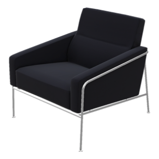Fritz Hansen Series 3300 Easy Chair