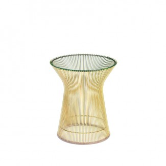 Knoll Warren Platner Side Table in Gold