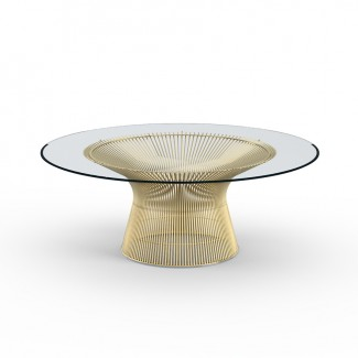Knoll Warren Platner Coffee Table in Gold