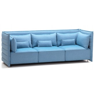 Vitra Alcove Plume Three-Seater Sofa