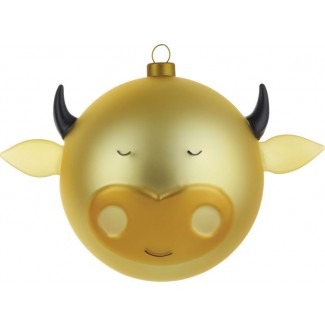 Alessi Bue Christmas Bauble