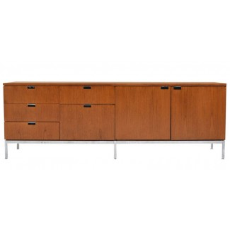 Knoll Florence - Credenza - Four Position (Four Storage Cabinets) Style 2