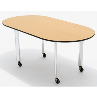 Knoll Joseph D'Urso - Racetrack Work Tables