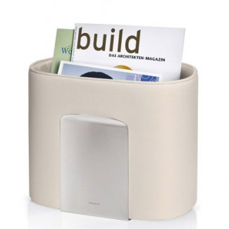 Blomus Spinta Magazine Holder & Canvas