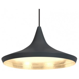 Tom Dixon Beat Pendant Light Wide, Black